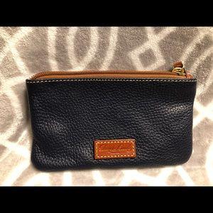 Navy Dooney & Bourke wallet